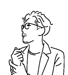 江口勇樹のイラスト