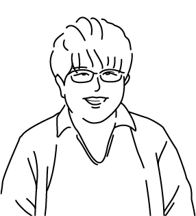 西葵のイラスト