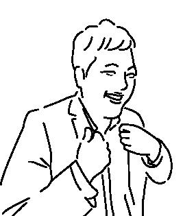 谷原満彦のイラスト
